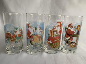 Kerst drinkglazen